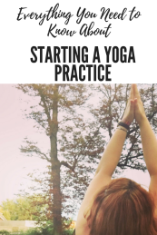 Starting a Yoga practice (1)